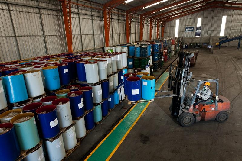 Industrial Waste Management Total Solution