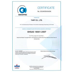 TARF OHSAS-18001